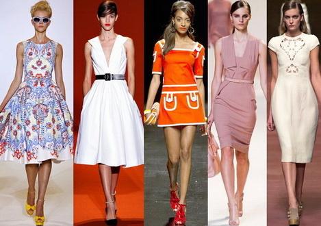 Модные платья на лето 2015, выкройки