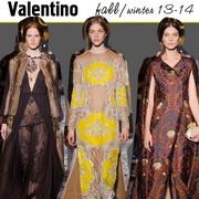 Коллекция Valentino Осень-Зима 2013-2014