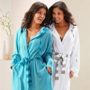 Самые красивые зимние халаты
